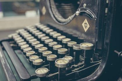 Events & Berichte Schreibmaschine